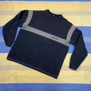 Nike Crew Neck Sweater Sweatshirt Spell-out XXL